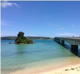 沖縄のきれいな海